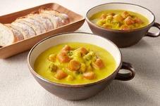 かぼちゃと大豆のスープ