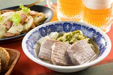 塩豚とキャベツのドイツ風煮込み&あっさりポテサラ