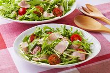 ベーコンのグリーンサラダ