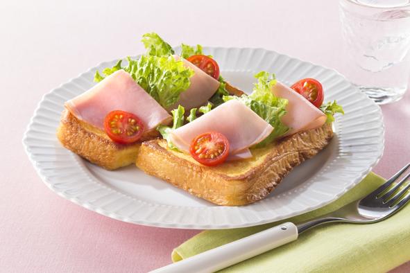 サラダフレンチトースト