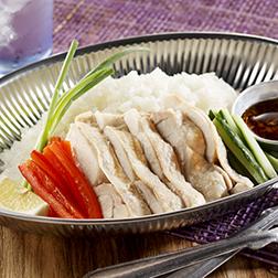タイの屋台風鶏ご飯カオマンガイ